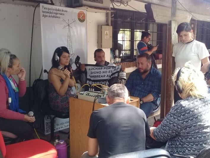 Radio abierta en apoyo a las y los trabajadores