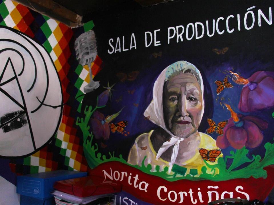 Sala de producción Norita Cortiñas