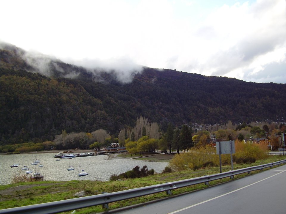 Llegando a San Martín de los Andes