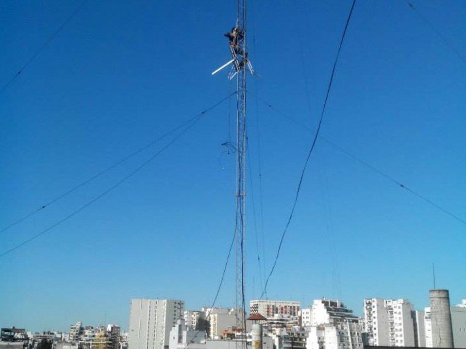 En el medio de la ciudad de Buenos Aires