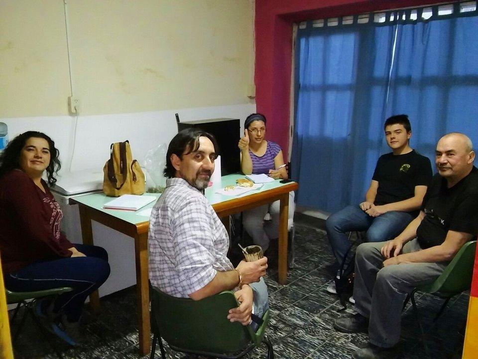 Parte del equipo de Quillay para la Promoción del Desarrollo rural