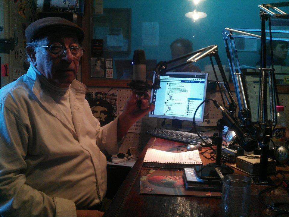 Héctor Clerice uno de los conductores de Memoria adentro