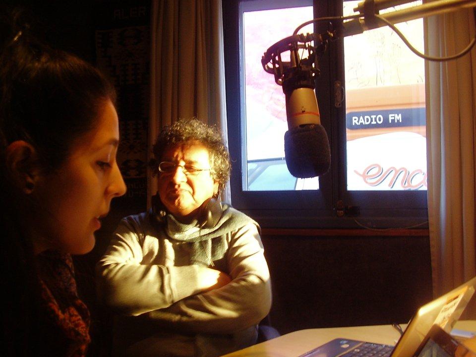 """Florencia Berreaute y Abner """"Pato"""" Lobos"""