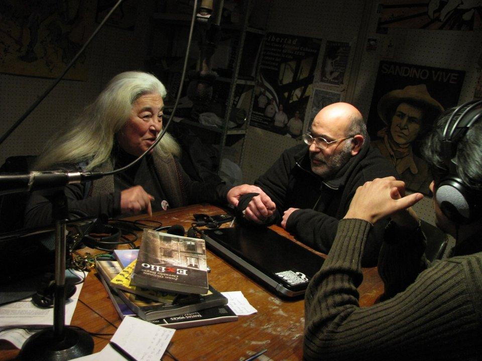 Años atrás: Eduardo Candreva junto a Nilda Eloy