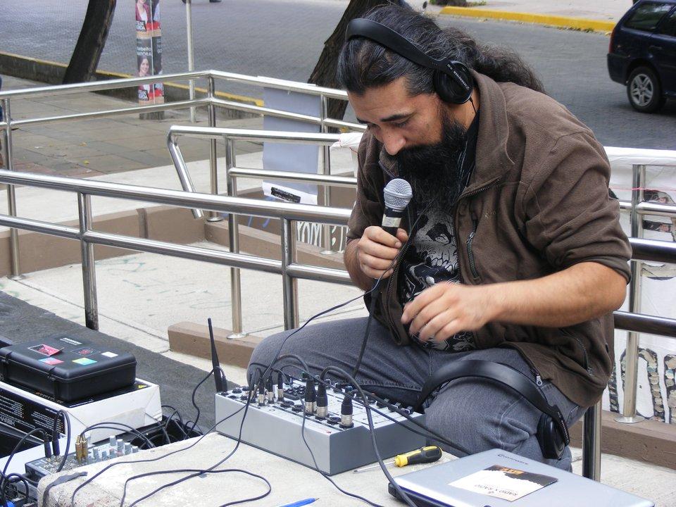 Juan Marcelo Rojas, operador
