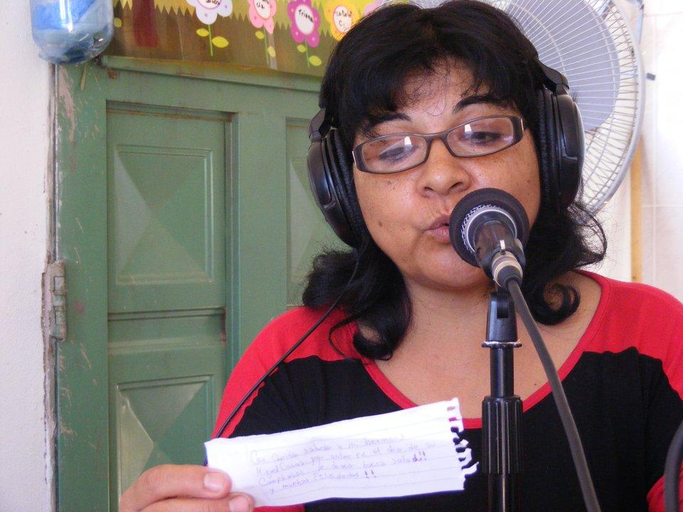 Carmen Chacoma, conductora