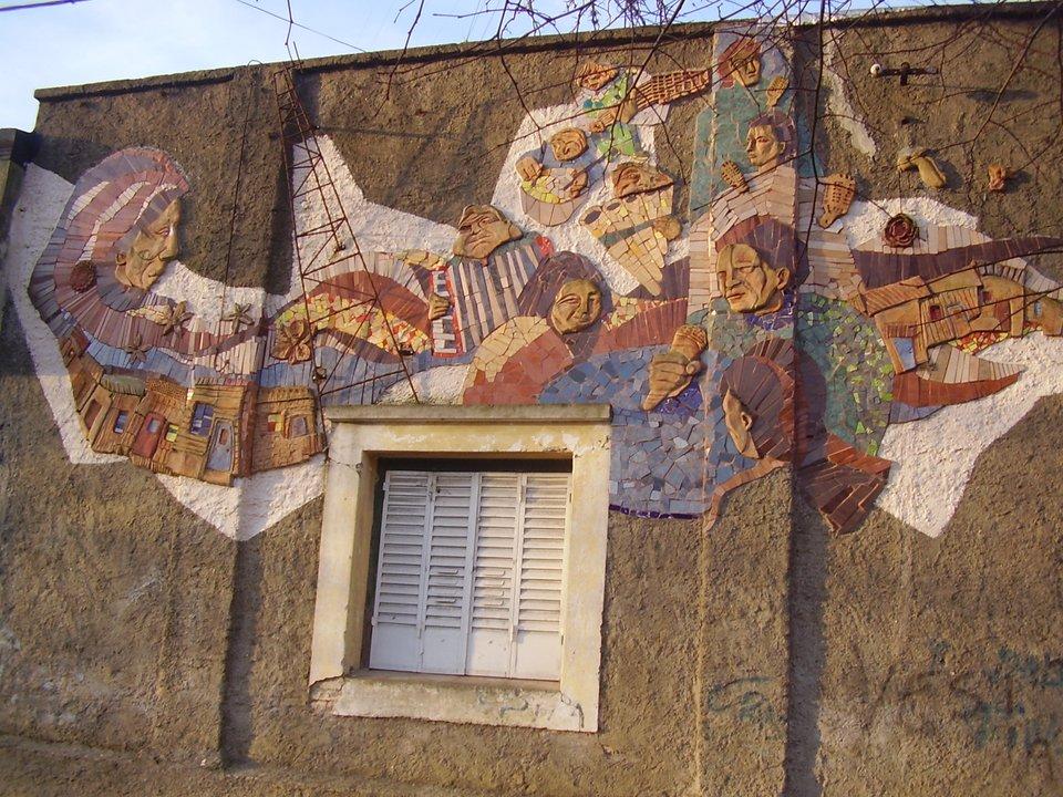 Mural sobre calle 5