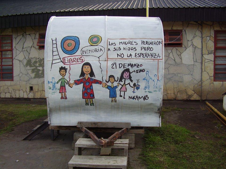 Mural en FM El Orejano