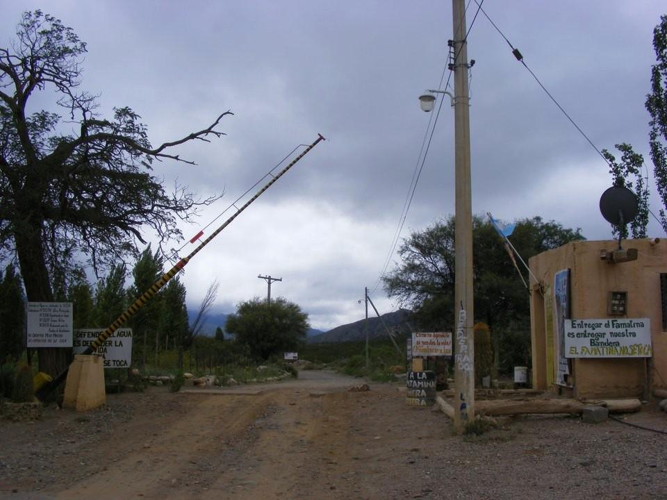 Corte en el Alto Carrizal