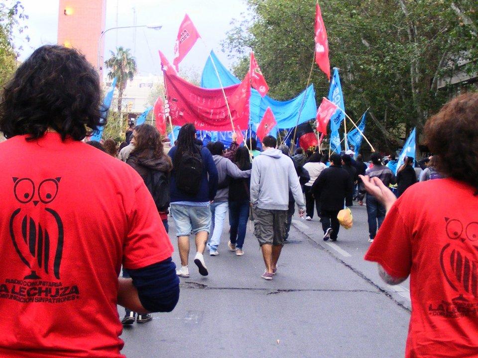 Marcha en el día de la Memoria, la Verdad y la Justicia