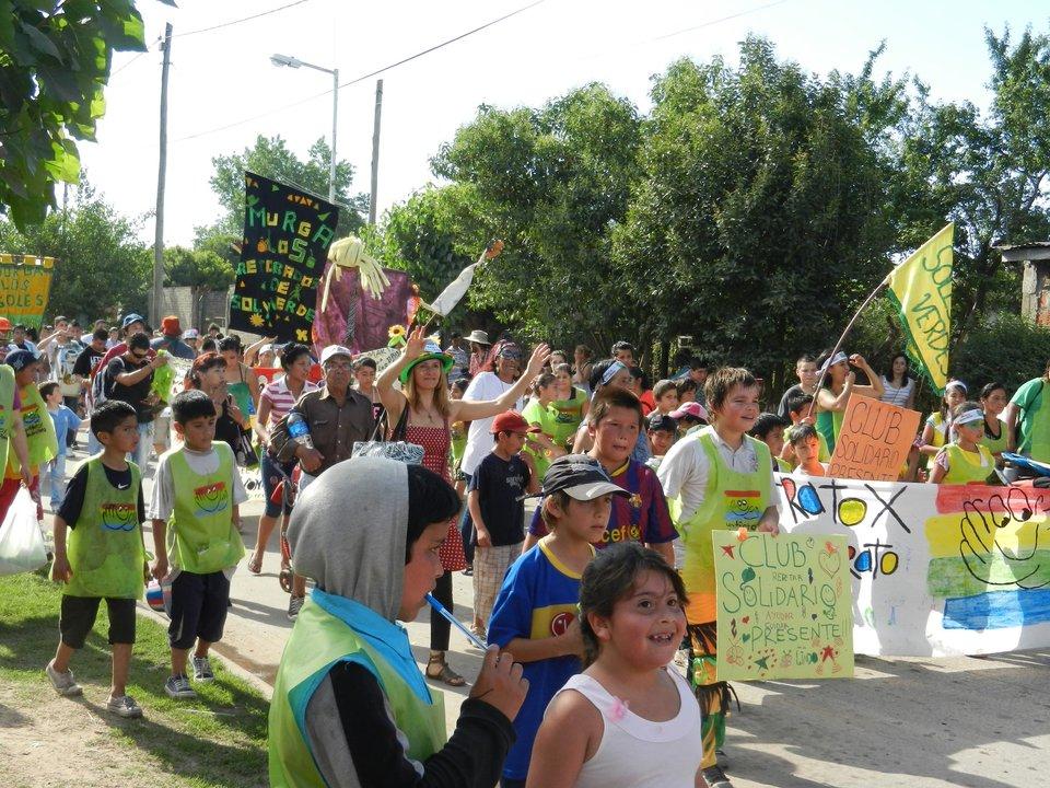 Club Solidario y murga Los Retobados de Sol y Verde
