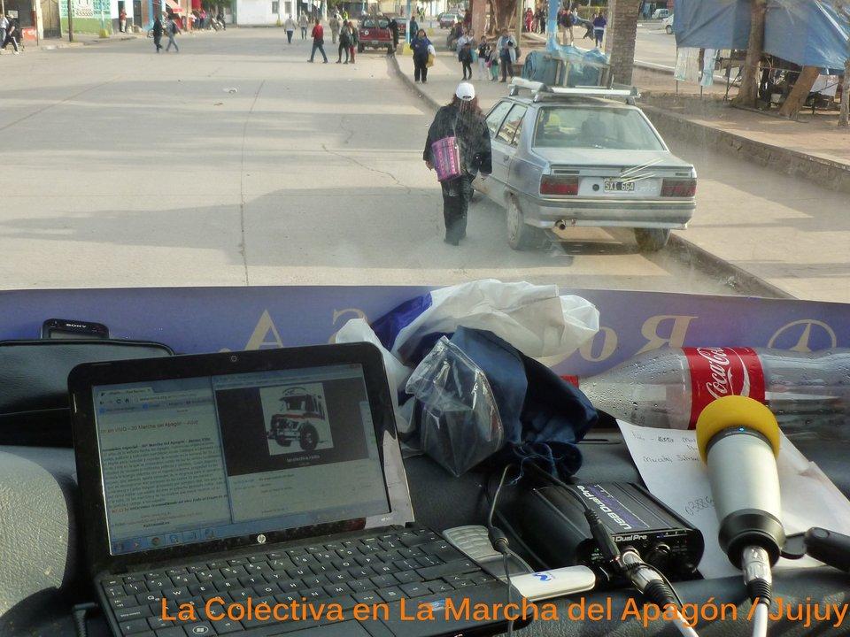 Cobertura Marcha del Apagòn, Jujuy