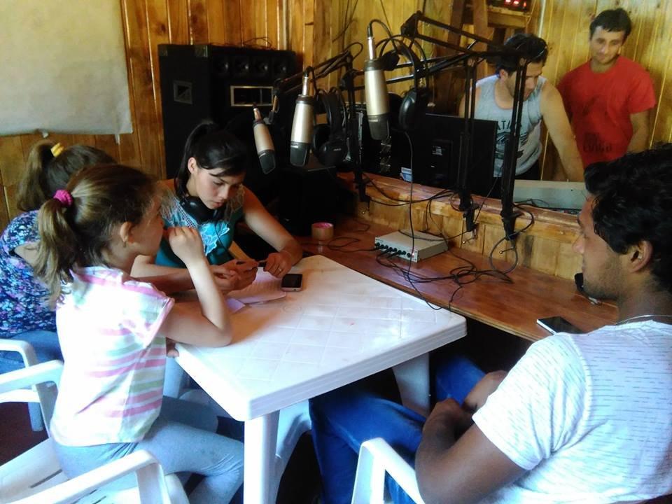 Organizando el primer programa de los jovenes